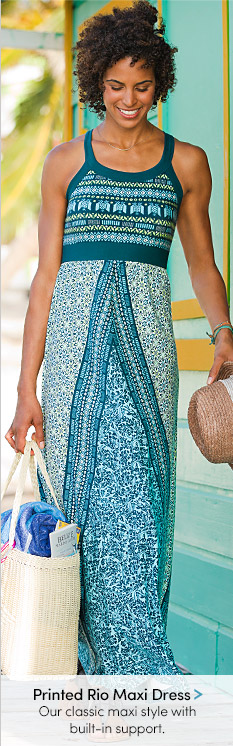 Printed Rio Maxi Dress