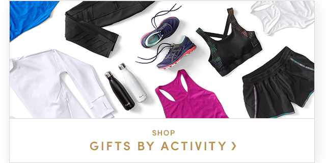 SHOP GIFTS BY ACTIVITY